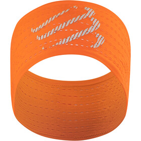 Compressport On/Off Hoofdband, fluo orange